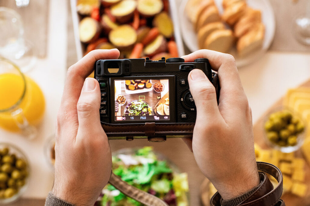 Food photographer image